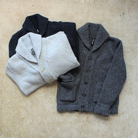 local 7 gage : wool cardigan