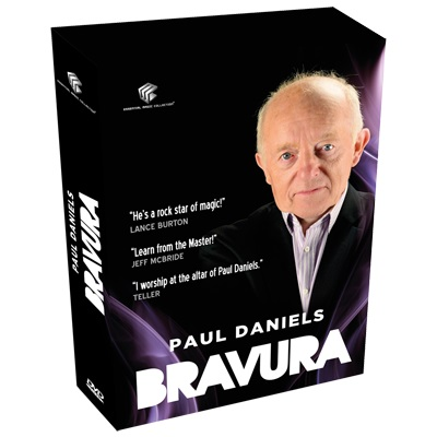 Bravura (日本語字幕付き)4DVD Box set by Paul Daniels