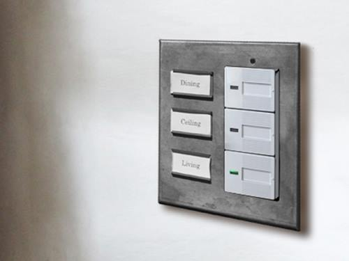iron name plate switch plate wide