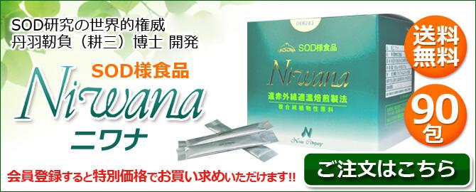 丹羽SOD Niwana(ニワナ)90包 一般